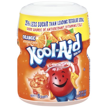 Kool Aid Drink Mix Orange 12/19oz