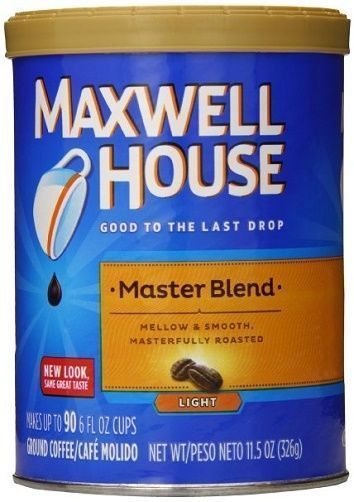 Maxwell House Master Blend 6/11.oz