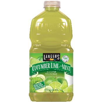 Langers Cucumber Lime with Mint 8/64oz