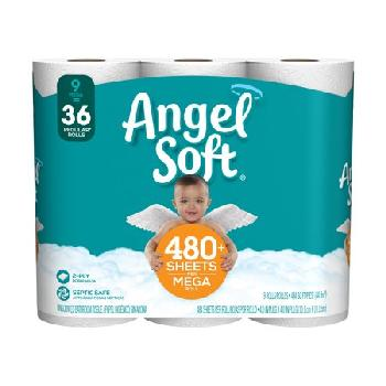 Angel Soft 9=36 Mega 4/9ct
