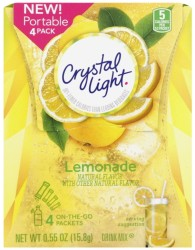 Crystal Light Lemonade 4/15ct