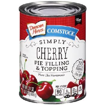 Duncan Hines Cherry Pie Filling 8/21oz