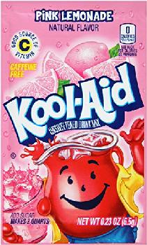 Kool-Aid Pink Lemonade 4/48ct/0.23oz