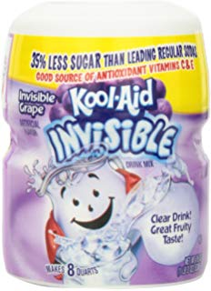 Kool Aid Invisible Grape12/19oz