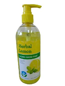 Being Well Herbal Lemon Liquid Hand Soap 12/12oz