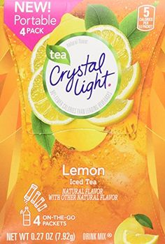 Crystal Light Lemon IceTea 4/15ct