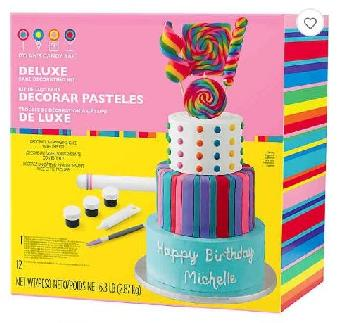 Deluxe Cake Decoration Kit 1/6.3lb