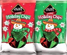 On The Border Holiday Chips 100/12oz