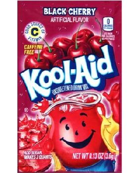 Kool-Aid Black Cherry 4/48ct/0.23oz