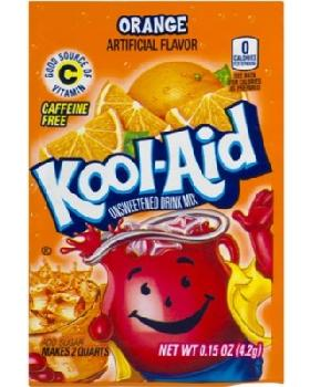 Kool-Aid Orange 4/48ct/0.23oz