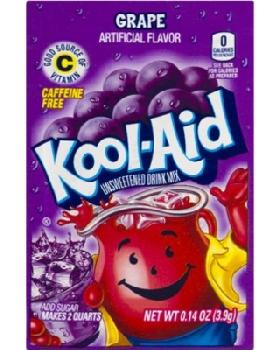 Kool-Aid Grape 4/48ct/0.23oz